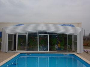 Abri-Integral - capitole haut - High Telescopic Pool Cover