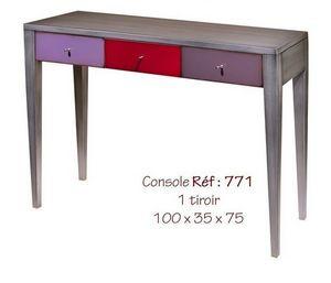 BATEL - multicolore - Drawer Console