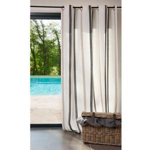 Maisons du monde - rideau urban écru - Eyelet Curtain
