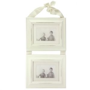 Maisons du monde - cadre ruban rectangle double - Photo Frame