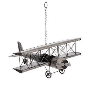 Maisons du monde - avion vintage métal - Children's Hanging Decoration