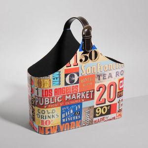 Maisons du monde - porte revue patchwork vintage - Magazine Rack