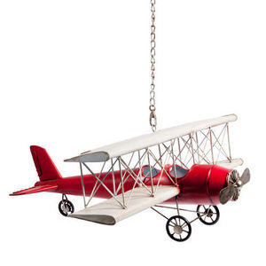 MAISONS DU MONDE - avion vintage us - Children's Hanging Decoration