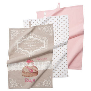 Maisons du monde - ensemble de 3 torchons gourmandise - Tea Towel