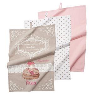 Maisons du monde - ensemble de 3 torchons gourmandise - Tea Towel