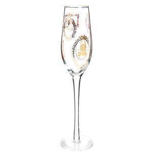 MAISONS DU MONDE - flûte cadres or - Champagne Flute