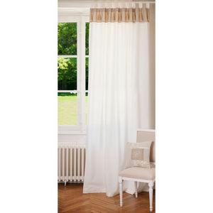MAISONS DU MONDE - double rideau napoli - Tab Top Curtain