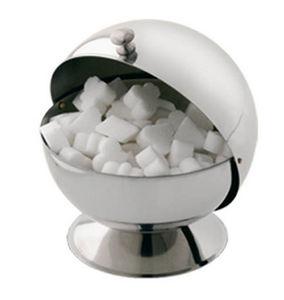 Tellier Gobel - boule à sucre en inox 14x16x14cm - Sugar Bowl