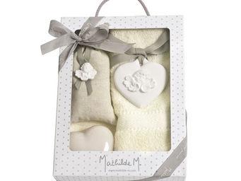 Mathilde M - boîte composée cur tête d'angelot - Perfume Box