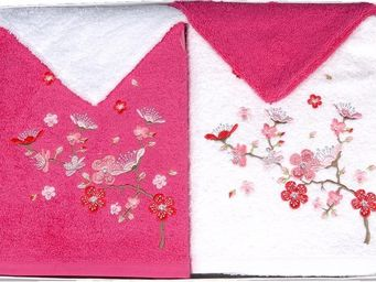 SIRETEX - SENSEI - coffret cadeau 4 pièces 2 serviettes + 2 gants bro - Bath Glove