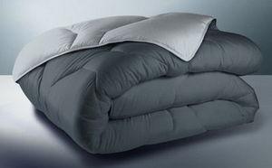 FASHION HOME - bicolore gris clair/ gris fon - Duvet