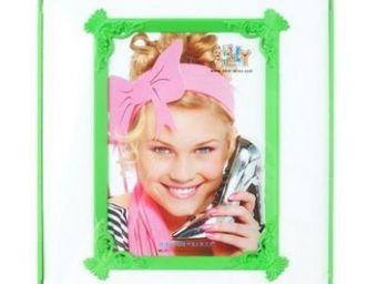 Present Time - cadre photo passepartout - couleur - vert - Photo Frame