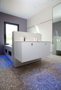 Marbrerie Des Yvelines -  - Pebble Flooring