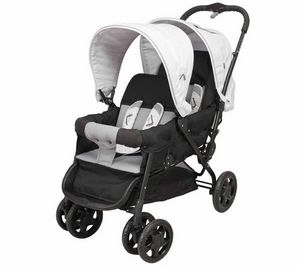LOOPING - poussette double samba black emotion - Pram