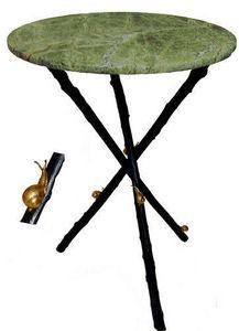 Jardinieres & Interieurs - escargot - Pedestal Table