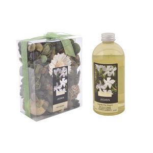 WHITE LABEL - pot pourri recharge liquide de parfum muguet et ja - Potpourri