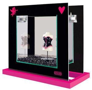 ZOLUX - aquarium déco pink lady 37x19x34,5cm - Aquarium
