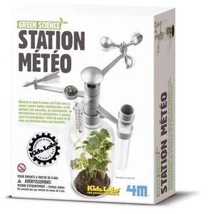 4M - kit création station météo expérience scientifique - Weather Clock