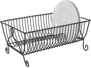 Aubry-Gaspard - egouttoir 21 assiettes en métal - Dish Drainer