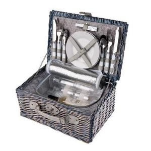 Delta - panier pique-nique isotherme gris - Picnic Basket