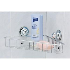 EVERLOC - support douche ventouse - Shower Caddy