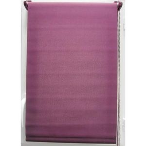 Luance - store enrouleur tamisant 45x180 cm aubergine - Light Blocking Blind