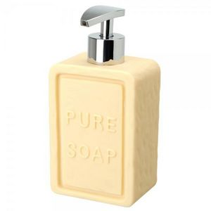 La Chaise Longue - distributeur de savon savonnette beige - Soap Dispenser