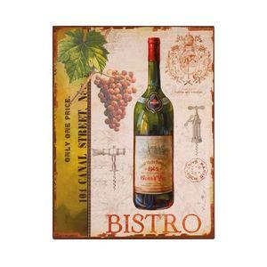 La Chaise Longue - plaque décoration bistro - Decorative Painting