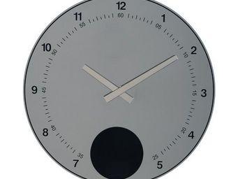 La Chaise Longue - horloge murale disque pendule miroir - Wall Pendulum