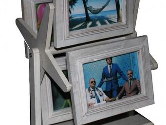 L'HERITIER DU TEMPS - porte cadres photos en bois - Picture Holder
