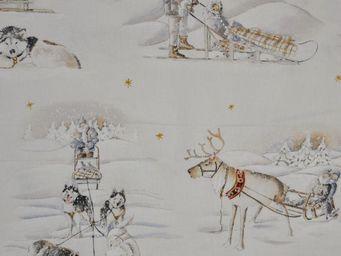 THEVENON - balades en traineau - Upholstery Fabric