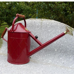 Botanique Editions - arrosoir 'heritage' 8.8 l rouge - Watering Can