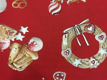 THEVENON - marche de noel - Furniture Fabric