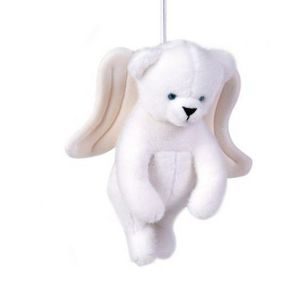 Au Nain Bleu - l'ours ange - Musical Soft Toy