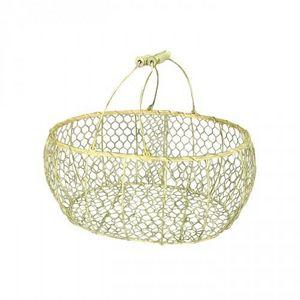 Demeure et Jardin - panier à huitres grand modéle - Wire Egg Basket