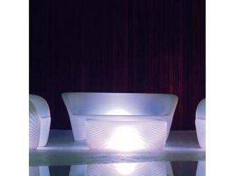 VONDOM - sofa vondom biophilia, lumineux - Garden Sofa