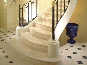 Marbrerie Des Yvelines -  - Quarter Turn Staircase