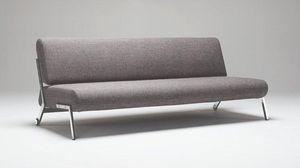 INNOVATION - canapé design debonair gris (mix dance) convertibl - Futon
