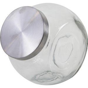 Aubry-Gaspard - bonbonnière en verre et métal - Candy Jar