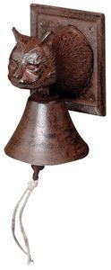BEST FOR BOOTS - cloche de jardin tête de chat - Outdoor Bell