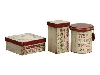 Interior's - boite gourmandises - Decorated Box