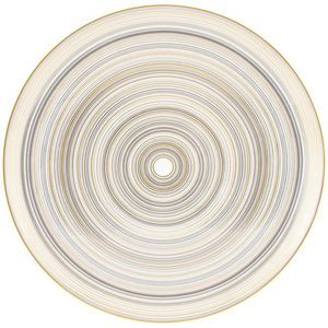 Raynaud - attraction or et platine - Round Dish