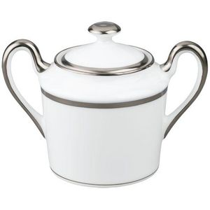 Raynaud - fontainebleau platine (filet marli) - Sugar Bowl
