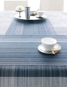 CHILEWICH - chambray multi stripe - Table Runner
