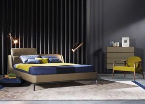 ROCHE BOBOIS - cassiopee - Double Bed