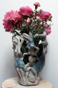 LAURENT  SÉBÈS -  - Vase