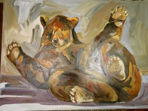 MARTA JOHAN MILOSSIS PEINTURE -  - Contemporary Painting