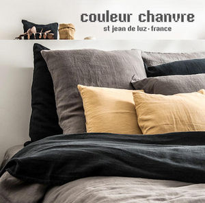 Couleur Chanvre - chanvre pur~~-- - Pillowcase