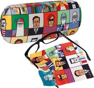 EIGHTYDAYS & I LIKE PAPER -  - Spectacle Case