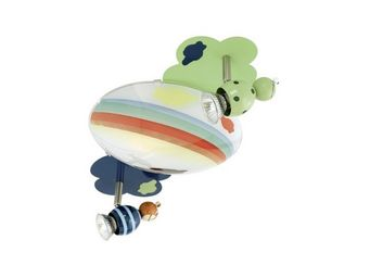 Eglo - plafonnier enfant 2 spots taya - Children's Bedside Light